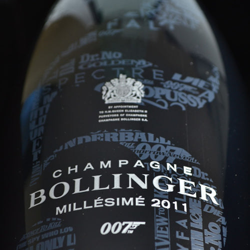 Bollinger 007 James Bond Limited Edition Millesime 2011 75cl - Naked Bottle