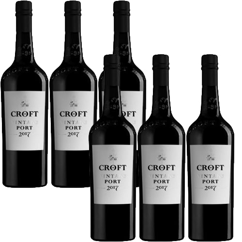 Croft Vintage 2017 Port Case of 6 x 75cl