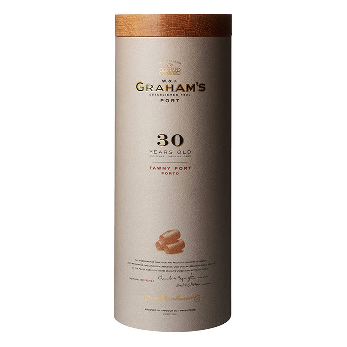 W & J Graham's 30 year old Tawny Port 75cl in Luxury Leather Gift Tube 20% ABV