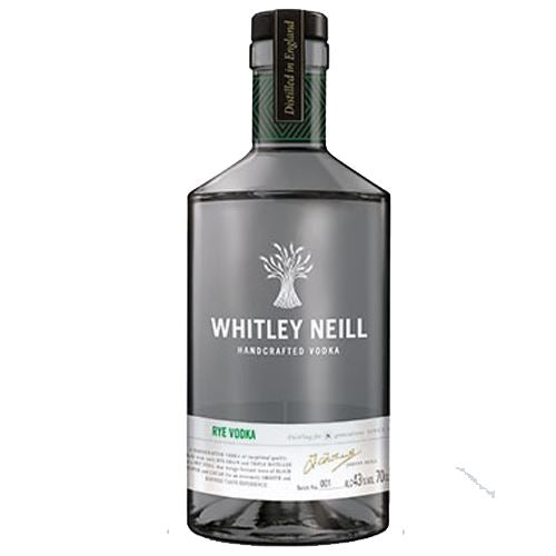Whitley Neill Rye Vodka 70cl 43% ABV