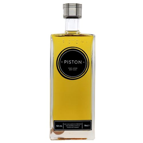 Piston Oak Aged Dry Gin 70cl 42%