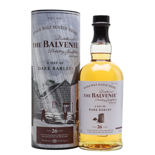 Balvenie Stories A Day of Dark Barley 26YO Whisky 70cl 47.8% ABV