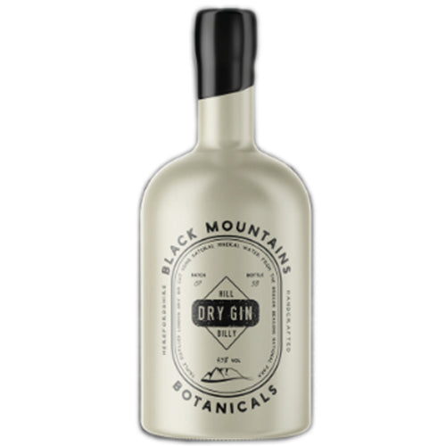 Black Mountain Botanicals Hill Billy Dry Gin 50cl 43% ABV