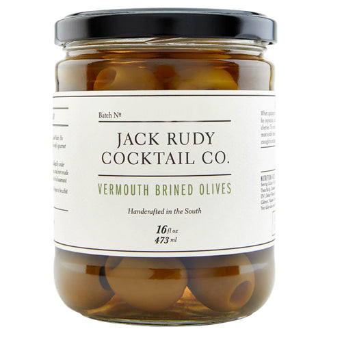 Jack Rudy Vermouth Brined Olives 473ml