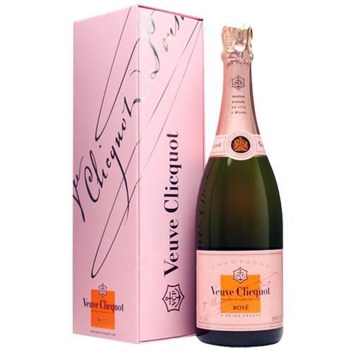Veuve Clicquot Rose NV Champagne 75cl Gift Boxed 12% ABV