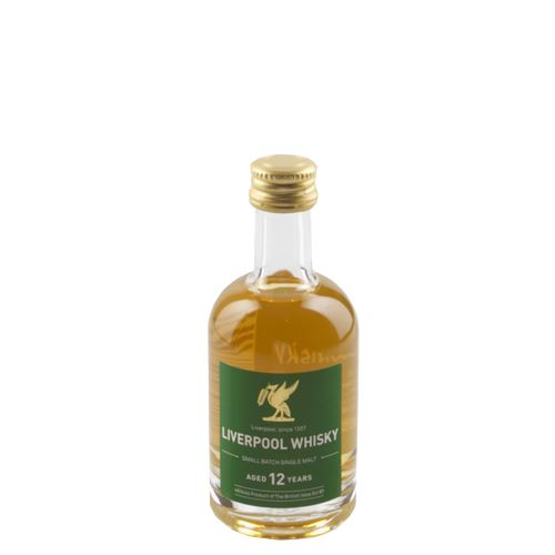 Liverpool Whisky 12yo 5cl 46% ABV