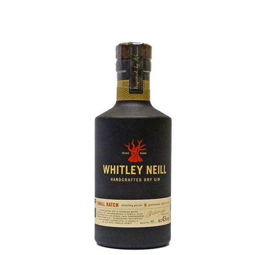 Whitley Neill Small Batch Dry Gin 20cl 43% ABV