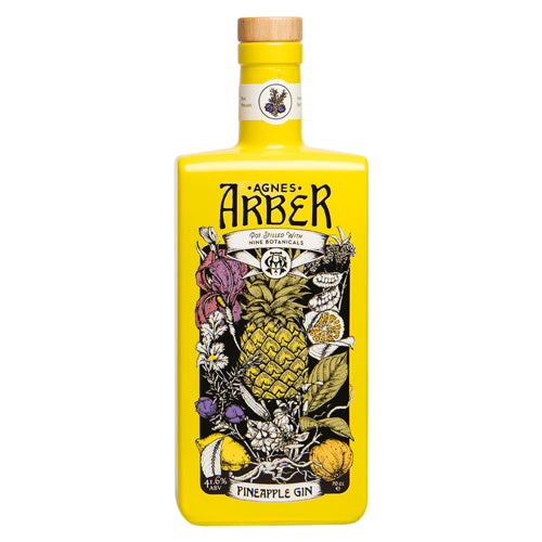 Agnes Arber Pineapple Gin 70cl 41.6% ABV