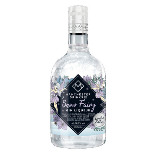 Manchester Drinks Co Snow Fairy Gin liqueur 50cl 20% ABV