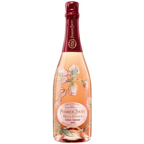 Perrier Jouet Belle Epoque Rose 2005 Champagne Autumn Edition 75cl Gift Boxed 12% ABV