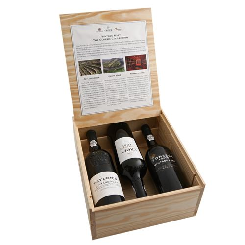 Taylors, Fonseca, Croft Vintage Port Trio Collection Pack 2015 3 x 75cl 20% ABV