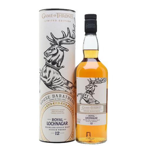 Game of Thrones House Baratheon - Royal Lochnagar 12 Year Old Whisky 70cl 40% ABV