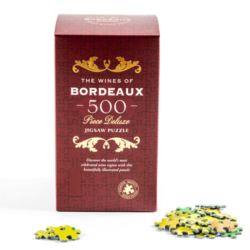 The Wines of Bordeaux 500 Piece Delux Jigsaw Puzzle