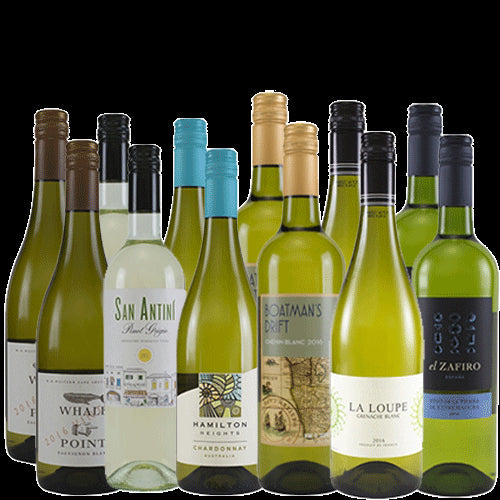 The Secret Bottle Shop White Wine Case - 12 x 75cl
