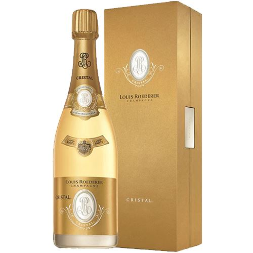 Louis Roederer Cristal 2002 Vintage Champagne 75cl Gift Boxed 12% ABV