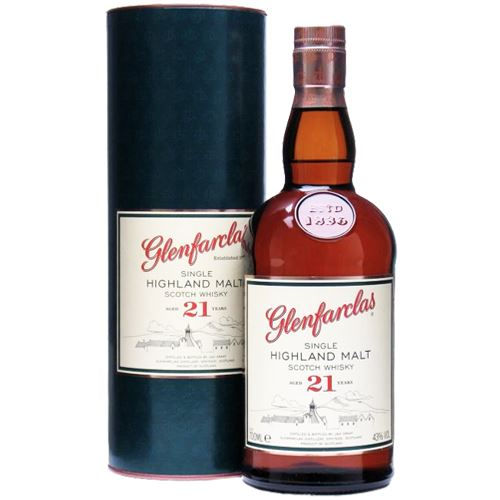Glenfarclas 21 Year Old Whisky 70cl 43% ABV
