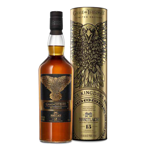 Mortlach 15 Year Old - Game of Thrones Six Kingdoms Whisky 70cl 46% ABV