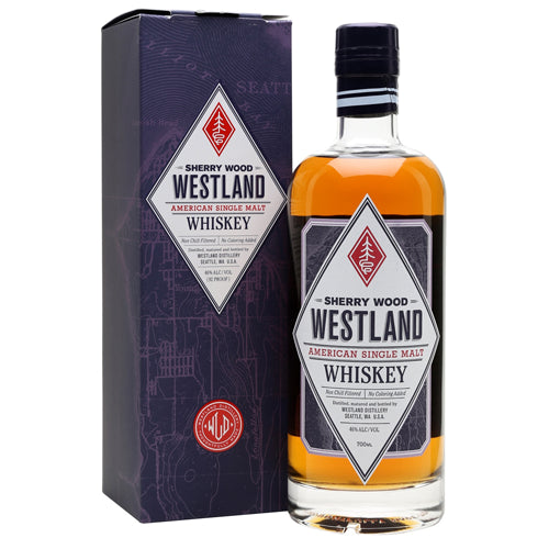 Westland Sherry Oak Single Malt Whiskey 70cl 46% ABV