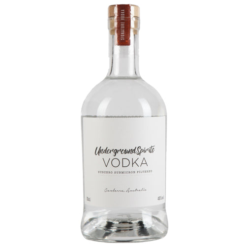 Underground Spirits Vodka 70cl 40% ABV
