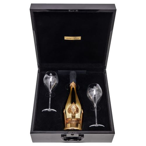 Armand De Brignac Ace of Spades Deux Flutes Limited Edition Two Glass Gift Set