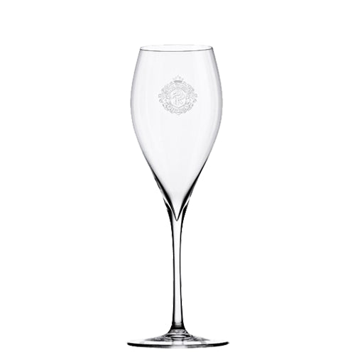 Pol Roger Crystal Glass Champagne Flute