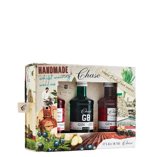 Chase Three Perfect Gin Serves Miniature Gift Set 3x5cl
