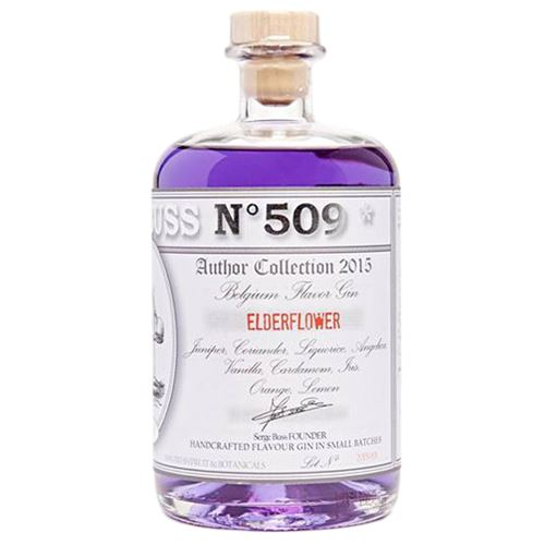 Buss no 509 Handcrafted Elderflower Gin 70cl 40% ABV