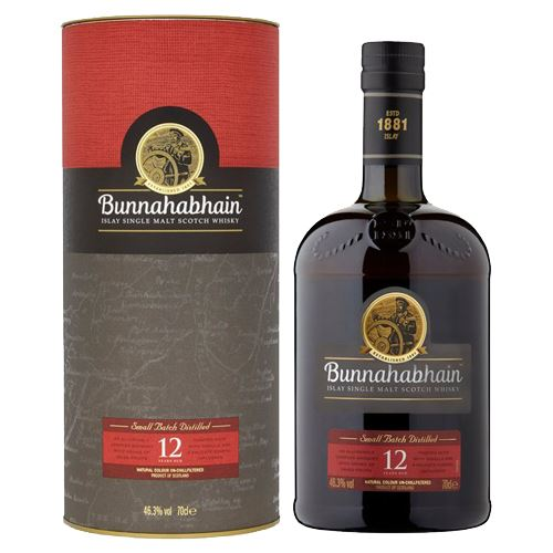 Bunnahabhain 12yo Scotch Whisky 70cl 46.3% ABV
