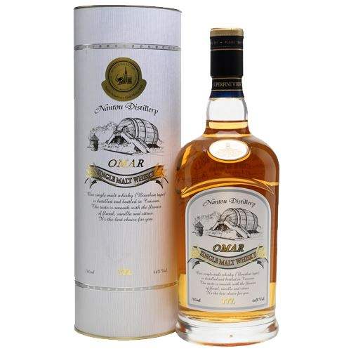 Omar Bourbon Cask Single Malt Whiksy 70cl 46% ABV