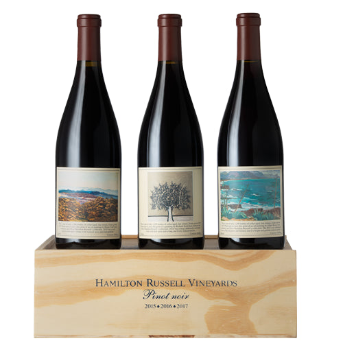 Hamilton Russell Pinot Noir Vertical 2015-2017 Gift Boxed