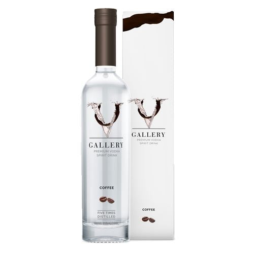 V Gallery Coffee Vodka 50cl 21% ABV