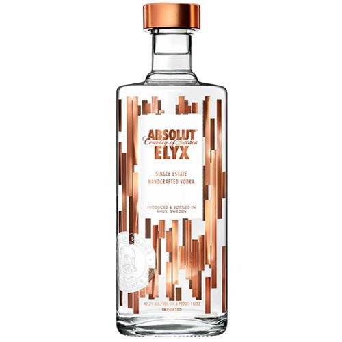 Absolut Elyx Handcrafted Single Estate Swedish Vodka 70cl 40% ABV