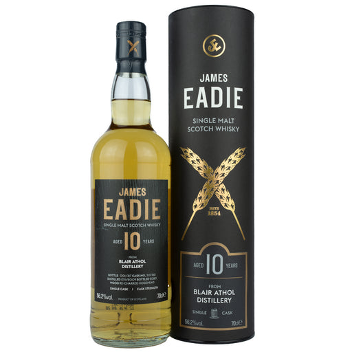 James Eadie Blair Athol Cask Strength Whisky 70cl 56.2% ABV