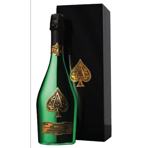 "Armand De Brignac ""Ace of Spades"" Brut Green Masters Edition 2015 75cl Gift Boxed 12% ABV"