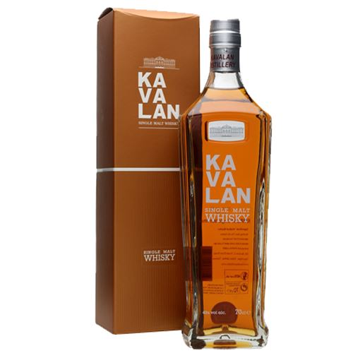 Kavalan Single Malt Whisky Gift Boxed 70cl 40% ABV