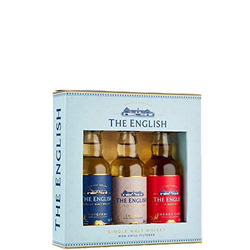 The English Original, Smokey and Sherry Cask Whisky Gift Pack 3x5cl