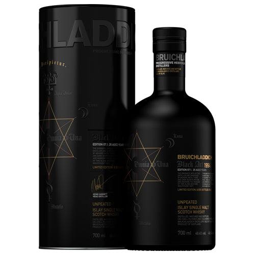 Bruichladdich Black Art 1994 Edition 07.1 Single Malt Whisky 70cl 48.4% ABV