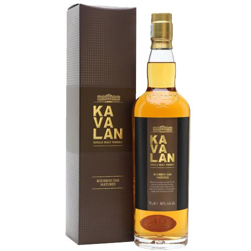 Kavalan Bourbon Oak Single Malt Whisky 70cl 46% ABV