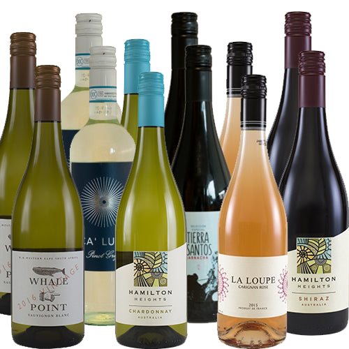 The Secret Bottle Shop Mixed Wine Case - 12 x 75cl