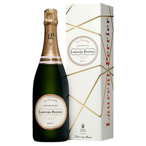 Laurent Perrier La Cuvee Brut Champagne Gift Boxed 75cl 12% ABV