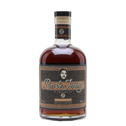 Ron de Jeremy Hardcore Spiced Rum 70cl 47% ABV