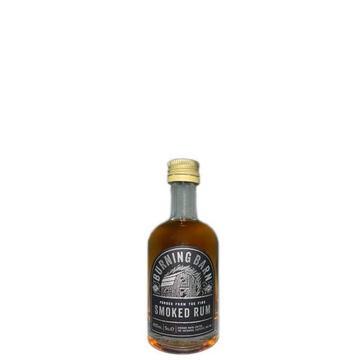 Burning Barn Smoked Rum Miniature 5cl 40% ABV