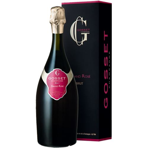 Gosset Grand Reserve Rose Champagne 75cl Gift Boxed 12% ABV