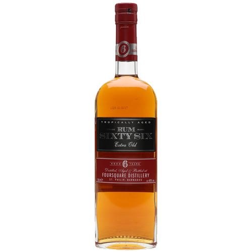 Rum Sixty Six Extra Old 6yo 70cl 40% ABV