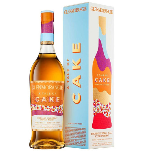 Glenmorangie A Tale of Cake Limited Edition Single Malt Scotch Whisky Gift Boxed 70cl 40% ABV