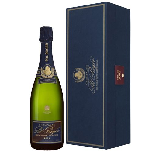 Pol Roger Sir Winston Churchill Vintage Champagne 2002 75cl 12.5% ABV