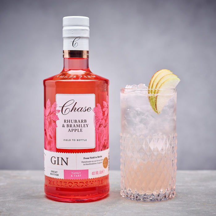 Chase Rhubarb and Bramley Apple Gin Miniature 5cl 40% ABV