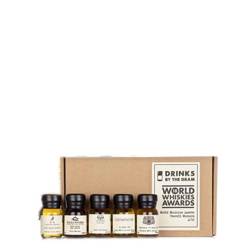 Drinks by the Dram World Whiskies Awards 2018 Overall Winners Tasting Set 5x3cl 43.2% ABV
