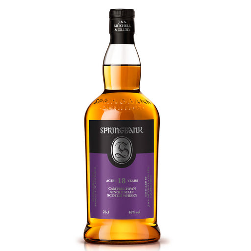 Springbank 18 Year Old Whisky 2020 Release 70cl 46% ABV