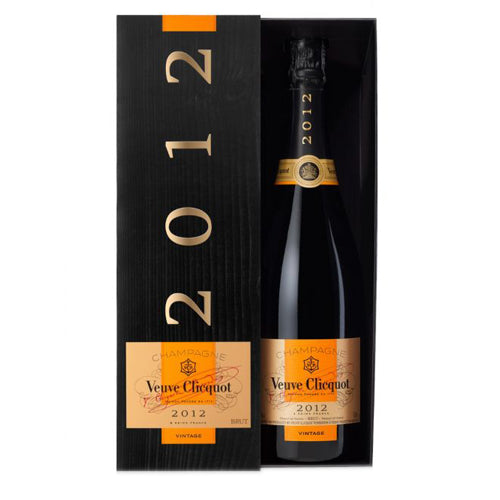 Veuve Clicquot Vintage Reserve Champagne 2012 75cl Gift Boxed